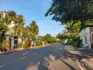 Những con đường xung quanh dự án Khu đô thị mới Cồn Khương