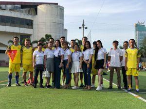 An Khương tham gia giải bóng đá mừng ngày thành lập ngành du lịch Việt Nam