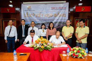 An Khương và IDICO-INCO-10 ký kết Hợp đồng thi công cơ sở hạ tầng dự án Khu đô thị mới Cồn Khương