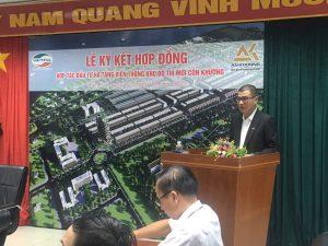 An Khương - Viettel ký kết hợp đồng hợp tác đầu tư hạ tầng viễn thông khu đô thị mới Cồn Khương